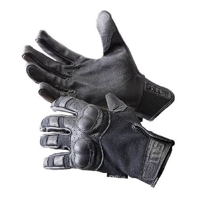 5.11 Tactical Hard Time Gloves Goatskin Leather Kevlar Extra Large Coyote 59354