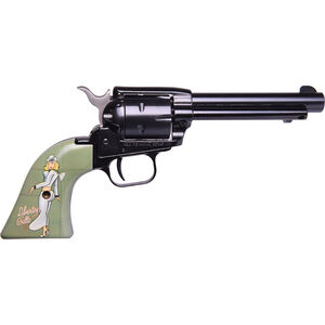 "Heritage Rough Rider Pin Up Girls .22 LR Single Action Rimfire Revolver 4.75"" Barrel 6 Rounds TALO Exclusive Liberty Belle Synthetic Grips Blued"