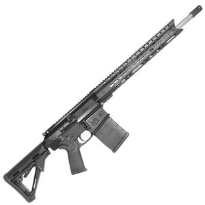 """Diamondback DB10ELB Semi Auto Rifle .308 Winchester 18"""" Stainless Steel Fluted Barrel 20 Rounds 15"""" KeyMod Hand Guard Collapsible Stock Matte Black"""