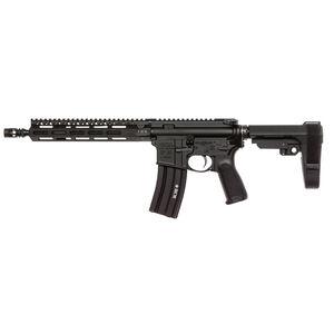"BCM Recce-11 MCMR AR-15 5.56 NATO Semi Auto Pistol 11.5"" ELW Barrel 30 Round Magazine MCMR-10 Free Float Hand Guard SBA3 Pistol Stabilizing Brace Matte Black"