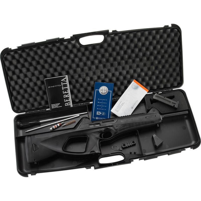"Beretta Cx4 Storm Semi Auto Rifle .40 S&W 16.6"" Barrel 14 Rounds Black Synthetic Stock JX4P415"