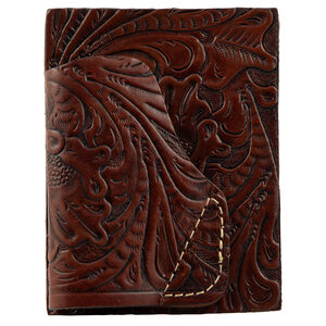 Hunter Company Deluxe Embossing Leather Pocket Holster Brown
