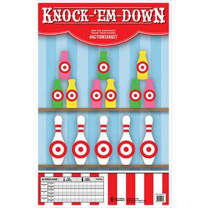 "Action Target Knock-'Em Down Paper Target 23""x35"" 100 Count"
