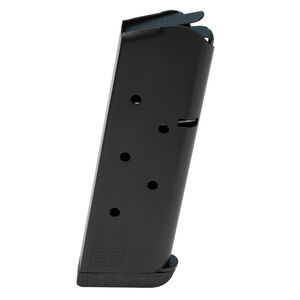 Ed Brown 1911 Officers 7 Round Magazine .45 ACP Stainless Steel Nitride Black Finish