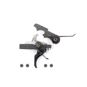 Airborne Arms Compact Geronimo Trigger System Curved Shoe Adjustable Pull Weight Black