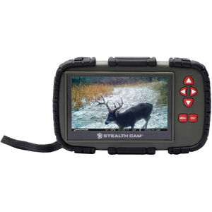 """GSM Outdoors Stealth Cam CRV43X SD Card Viewer with 4.3"""" Touch Screen"""