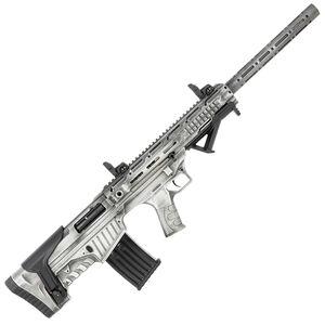 "Radikal NK-1 12 Gauge Semi Automatic Bullpup Shotgun 24"" Barrel 3"" Chamber 5 Rounds Fixed Synthetic Stock Battleworn Cerakote Gray Finish"