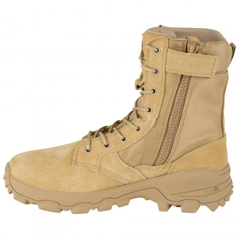 5.11 Tactical Speed 3.0 Coyote Side-Zip Boot Size 10 Regular Coyote