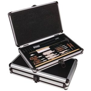 Outers 28 Piece Universal Cleaning Kit with Black Aluminum Case