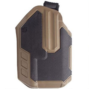 BLACKHAWK! Omnivore Multi fit Holster for Most Handguns with Streamlight TLR-1/TLR-2 Tactical Flashlight Level 2 Retention Tan/Black