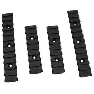 TAPCO Intrafuse Ultimate Accessory Rail Kit Black 6 Piece with Mounting Hardware