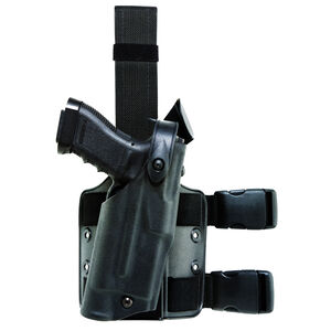 Safariland 6304 ALS/SLS Tactical Holster for S&W 5946 and 5493 DAO without Rails, Right Hand, STX Tactical Black 6304-320-131