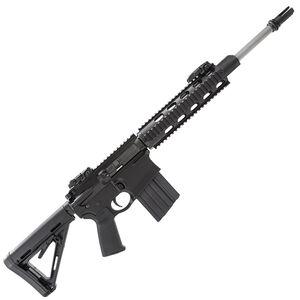 "DPMS GII Recon AR Style Semi Auto Rifle .308 Winchester 16"" Barrel 19 Round Magazine 4 Rail Free Float Hand Guard MOE Collapsible Stock Matte Black Finish"