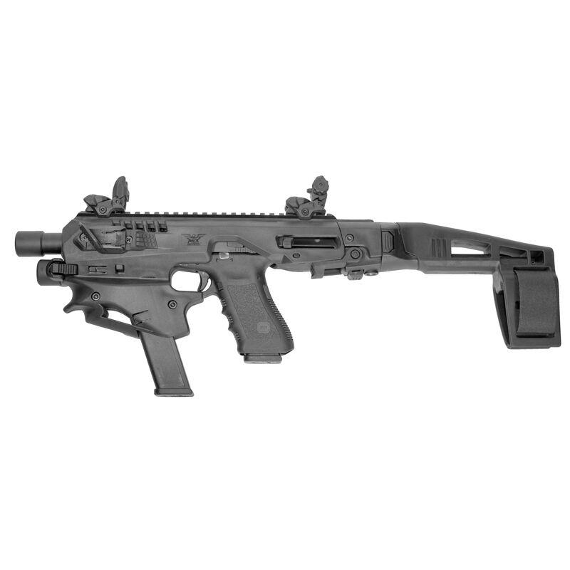 Command Arms Accessories MCK Micro Conversion Kit Plus Advanced Kit for GLOCK 17/19/19X/22/23/31/32/45 Matte Black