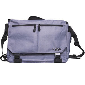 American Tactical Imports RUKX Gear Discrete Business Bag with Concealed Pistol Pocket 600D Polyester Storm Gray