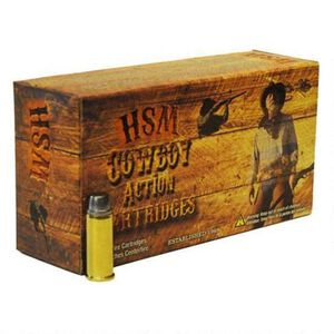 HSM Cowboy Action 38-55 Win 240 Grain RNFP 20 Round Box