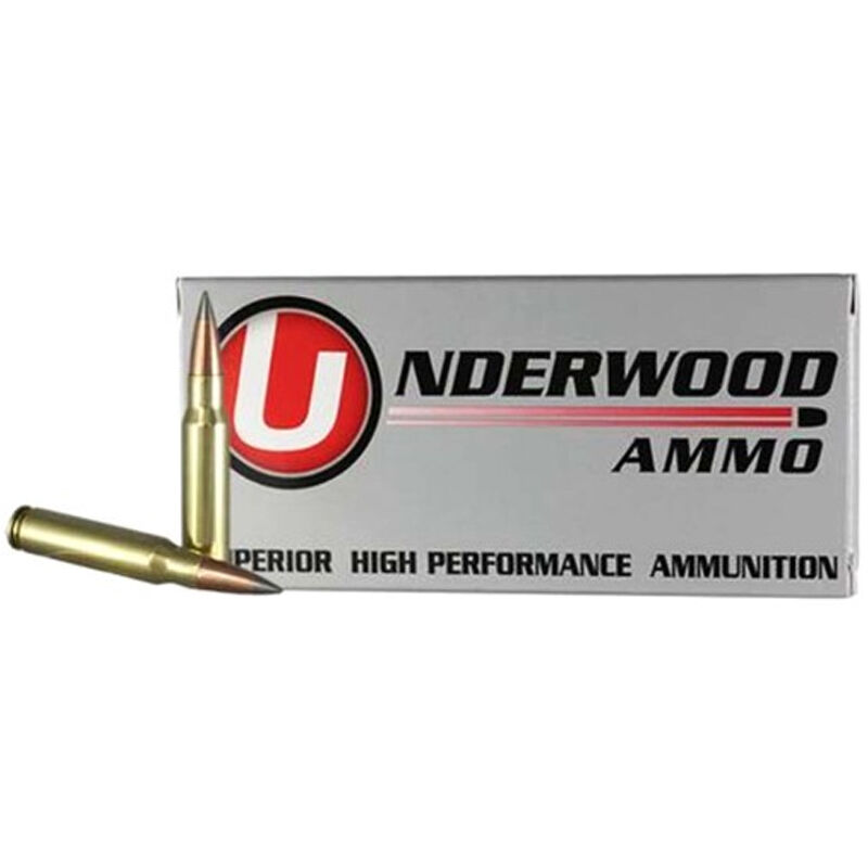 Underwood Ammo 6.5 Creedmoor Ammunition 20 Round Box 140 Grain Nosler AccuBond Spitzer Projectile 2700 fps