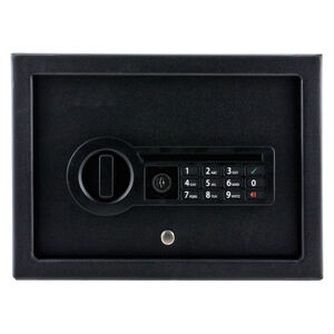 "Stack-On Small Drawer Pistol Safe With Electronic Keypad, 12"" x 8.75"" x 4.5"""