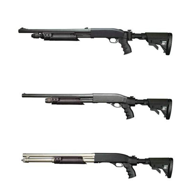 ATI Universal Tactical Shotgun Forend with Picatinny Rails Synthetic Black TSG0300