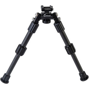 Caldwell Accumax Premium Picatinny Rail 6-9 Inch Bipod Aluminum and Carbon Fiber Black