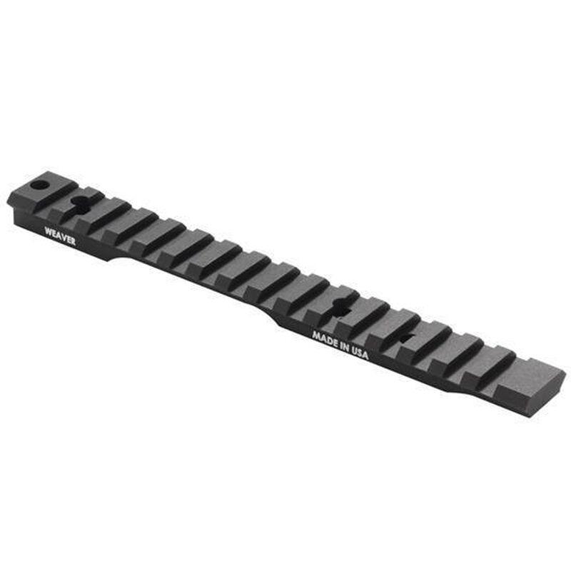 Weaver Extended Multi Slot Base Savage Accutrigger Long Action 20 MOA Matte Black 99494