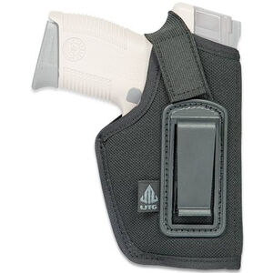 Leapers UTG Concealed Compact Semi Automatic Inside The Waistband Holster Ambidextrous Nylon Black PVC-H388B