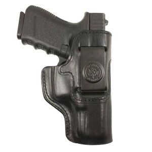 DeSantis Inside Heat Inside Waistband Holster Sig Sauer P938 Right Hand Leather Black 127BA37Z0