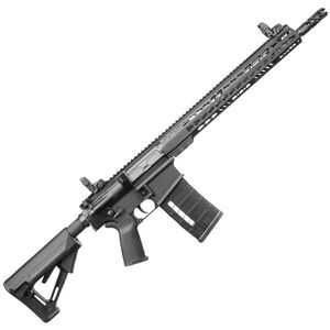 "Armalite AR-10 Tactical Semi Auto Rifle 7.62 .308 16"" Barrel 25 Round PMAG 15"" KeyMod Handguard Sights Anodized Black Finish"