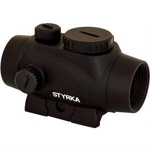 STYRKA S3 Red Dot 1x21mm Illuminated 5 MOA Dot Picatinny/Weaver Mount Matte Black Finish