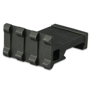 """Lion Gears AR-15 Tactical Angle Mount 90° 3 Slots 1.37"""" Long Aluminum Black BM03D90"""