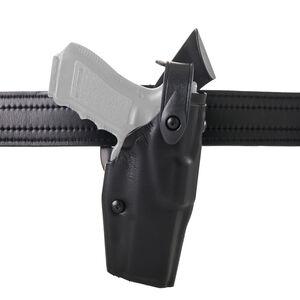 Safariland Model 6360 GLOCK 19, 23, 32 Mid Ride Level III Retention Duty Holster Left Hand STX Plain Black 6360-283-412