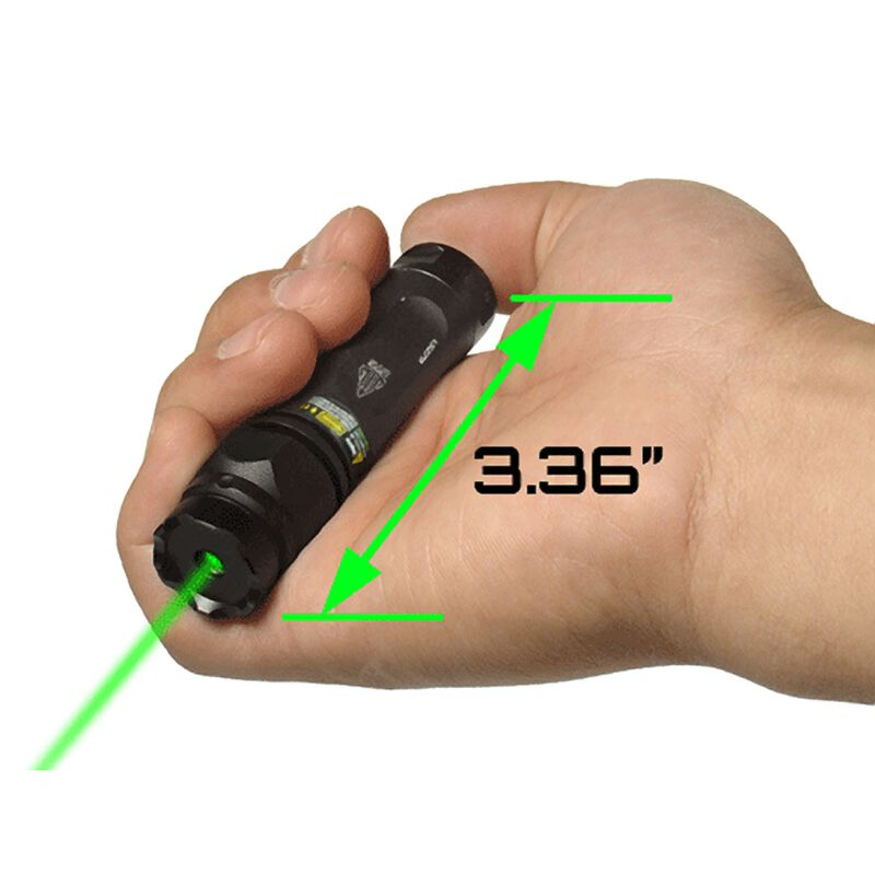 Leapers Green Laser Tactical Compact Size With Picatinny Ring Mount
