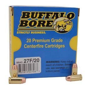 Buffalo Bore .380 ACP Ammunition 20 Rounds 95 Grain Full Metal Jacket-Flat Nose