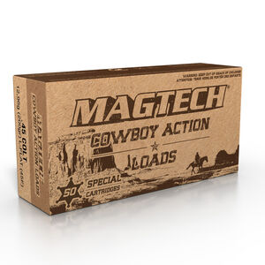 Magtech Cowboy Action .45 Colt Ammunition 50 Rounds LFN 200 Grains 45F