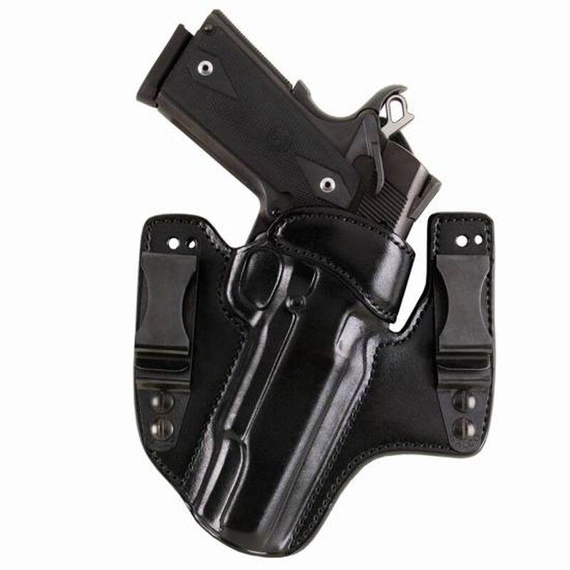 "Galco V-Hawk 1911 3"" Inside Waistband Holster Right Hand Leather Black HWK424B"