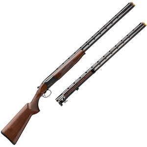 "Browning Citori CXS 20/28 Gauge Combo O/U Break Action Shotgun 32"" Barrels 2 Rounds Ivory Bead Sight Grade II Walnut Stock Blued Finish"