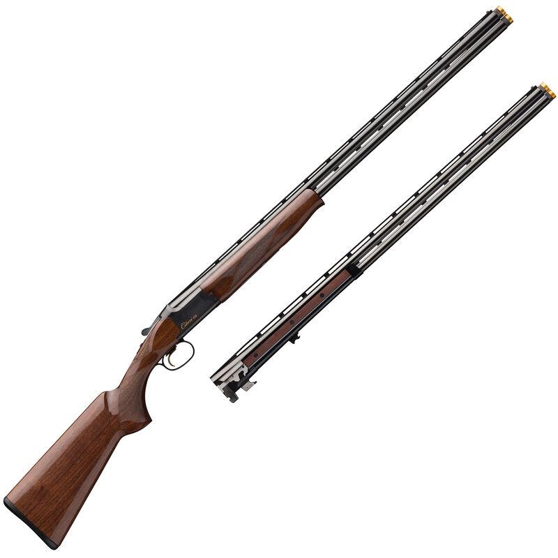 "Browning Citori CXS Combo 20/28 Gauge Combo O/U Break Action Shotgun 32"" Vent Rib Barrels 3"" Chambers 2 Rounds Walnut Stock Blued Finish"