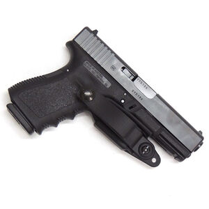 Raven Concealment Vanguard 2 Basic IWB Holster for GLOCK Gen 3 & Gen 4 Ambidextrous Kydex Black