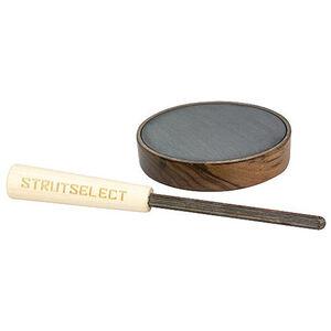 Hunters Specialties Strut Select Closing Time Pot Call Turkey Slate Surface American Walnut