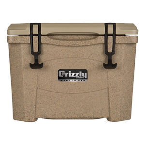 Grizzly Coolers Grizzly 15 Rotomolded 15 Quart Cooler Sandstone/Tan