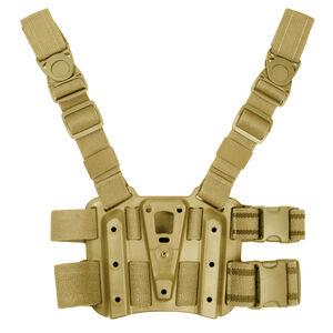 BLACKHAWK! SERPA Tactical Drop Leg Holster Platform Ambidextrous Polymer OD Green 432000POD