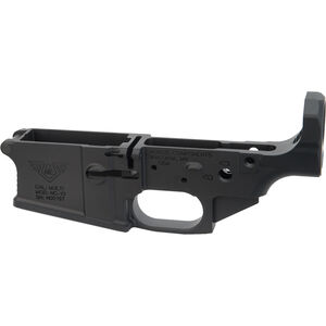 Nordic Components NC10 AR .308 Stripped Lower Receiver Forged Aluminum Black
