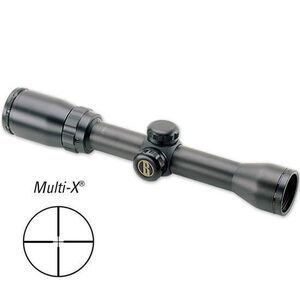 "Bushnell Banner 1.5-4.5x32 Riflescope Multi-X  Reticle 1"" Tube 1/4 MOA Matte Black 611546"