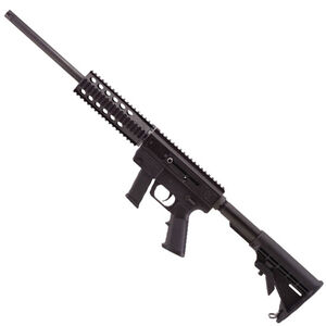 "Just Right Carbine Gen 3 9mm Luger Semi Auto Rifle 17"" Barrel 17 Rounds S&W M&P Magazines 13"" KeyMod Handrail Black"