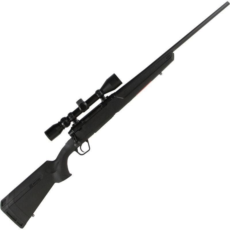 "Savage Axis XP Bolt Action Rifle 6.5 Creedmoor 22"" Barrel 4 Rounds Detachable Box Magazine Weaver 3-9x40 Riflescope Synthetic Stock Matte Black Finish"