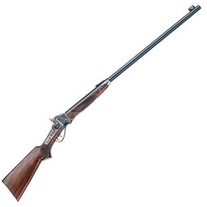 "Pedersoli 1874 Sharps Long Range Single Shot Rifle .45-70 Govt 34"" Barrel 1 Round Case Hardened Receiver Walnut Stock Blued S.788-457"