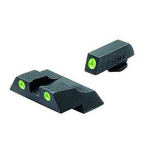 Meprolight Glock Tru-Dot Night Sight G26 & G27 Fixed Set Green and Green ML10226