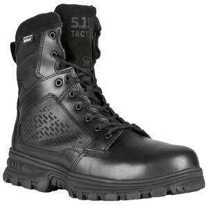 "5.11 Tactical EVO 6"" SideZip Waterproof Boot Black 9.5R"