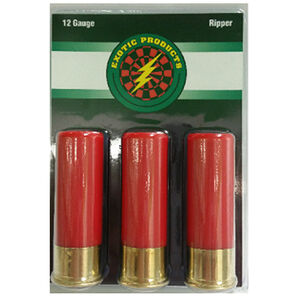 """Exotic Products Ripper 12 Gauge Steel Tacks/#12 Lead Shot, 2 3/4"""", 3 Pack"""