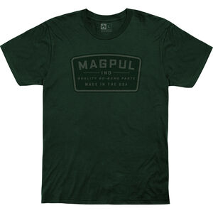 MagPul Go Bang Parts Cotton T-Shirt Large 100% Cotton Forest Green
